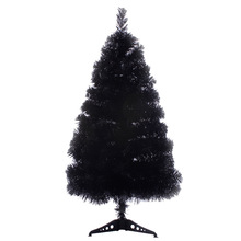 60cm Black Christmas Trees Artificial for Xmas Docoration New Year Gift Party Supply