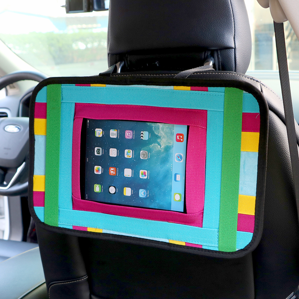 Auto Organizer Tablet Us 12 55 18 Off Car Seat Back Storage Bag Pouch Auto Organizer For Mobile Phone Ipad Tablet Car Holder Cell Phone Tablet Stand Stowing Tidying In