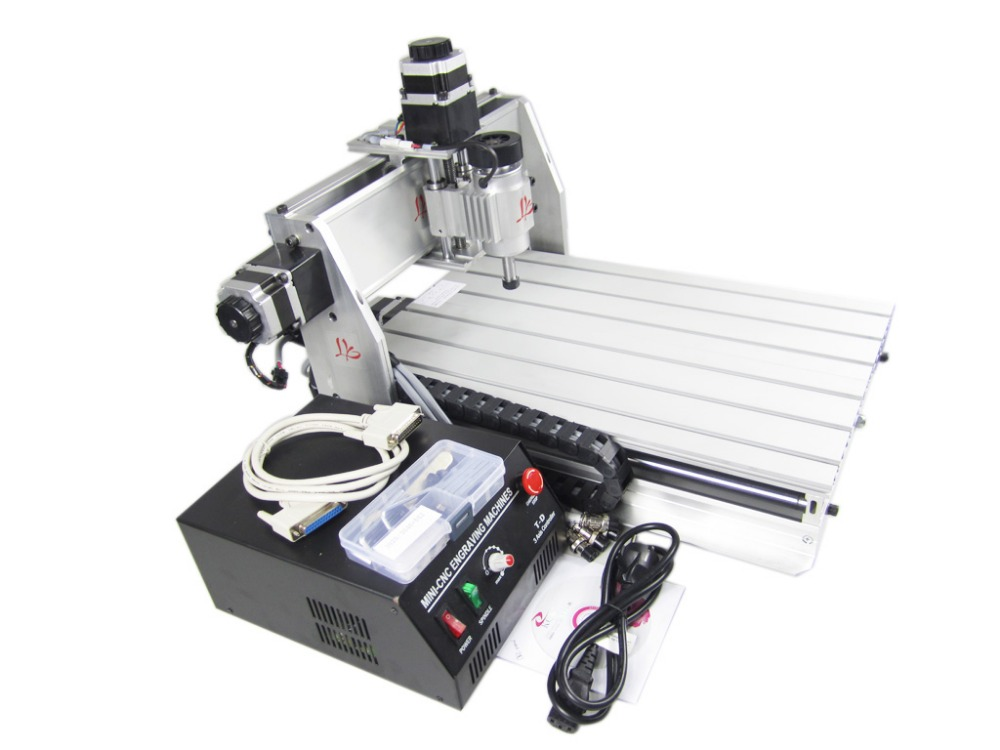 3040T-DJ CNC machine de gravure pour les amateurs de modèles magasin d'affaires CNC sculpture sur bois machine - 2