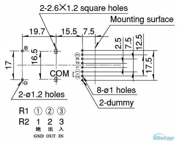 ALPS motor (2 x 100K)S1