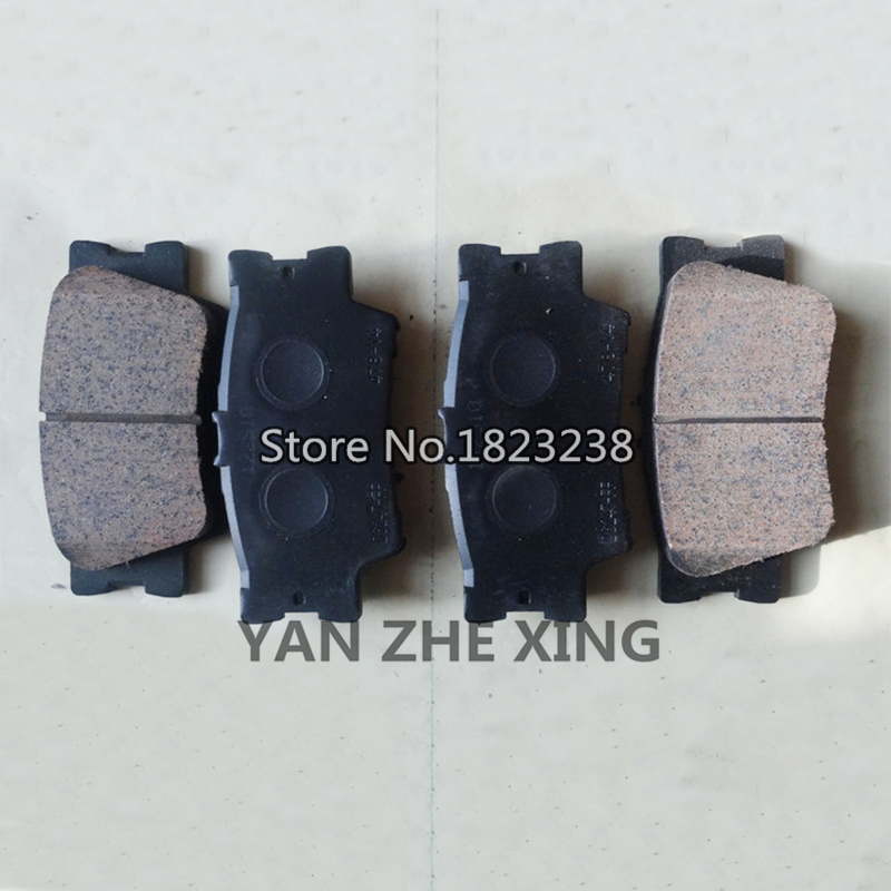 Rear Brake Pads For Toyota Camry 2007 2017 Lexus Es240 350 2009 Oem 04466 33180 In Car Shoes From Automobiles Motorcycles On