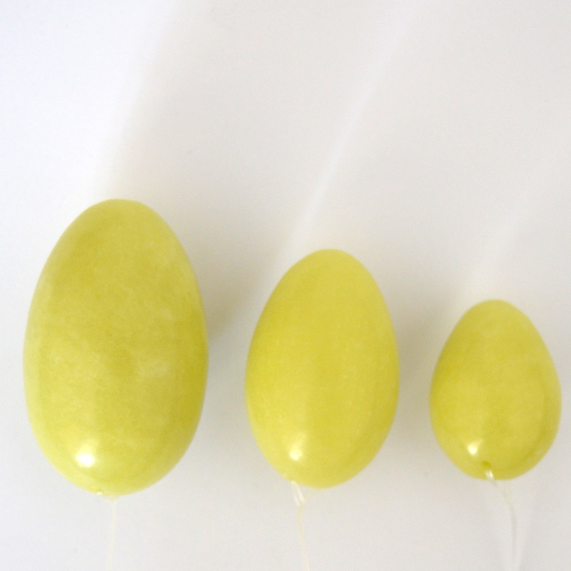 HIMABM 1 set jade egg Muscles Exercises strengthen pelvic floor muscles ben wa Yoni egg postpartum recovery for Kegel exercise in Massage Relaxation from Beauty Health