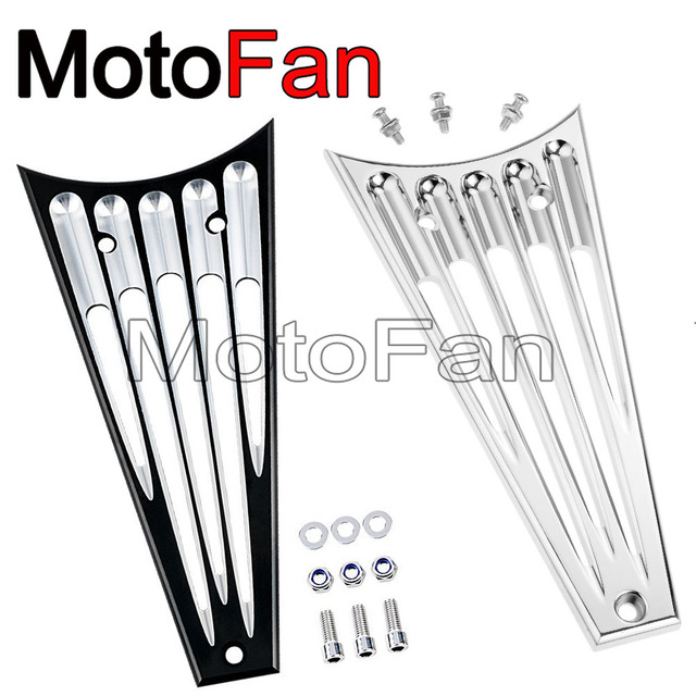 Motorcycle Frame Down Tube Grill Radiator Cover for Harley Davidson ...