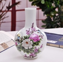 Jingdezhen ceramic vase the celestial sphere The modern home decoration New furnishing articles