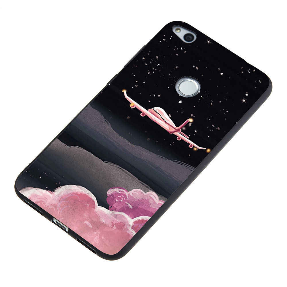 Shockproof Cases For Huawei GR5 Honor Note 10 8 6A 6X 6C Pro 7A 7C 7X 8 Lite 8 Pro Cat Fish Marble Stars Soft Case Covers Fundas