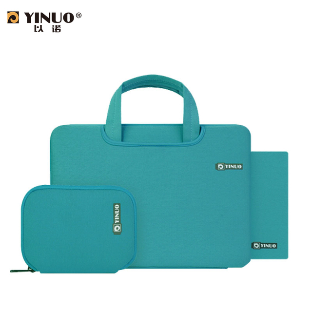888a60a5e1c0 Yinuo hot selling ultra Slim multipurpose Tablet laptop bag laptop notebook  PC bag 11 12 13 14 15 17 inch laptop sleeve handbag-in Laptop Bags & Cases  ...