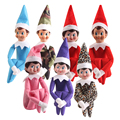 10 Стиль Голубоглазая Северный Полюс Девушка Эльф Плюшевые Игрушки На Полки Эльфы Рождественские Куклы Игрушки Для Детей Праздник И Рождество подарок