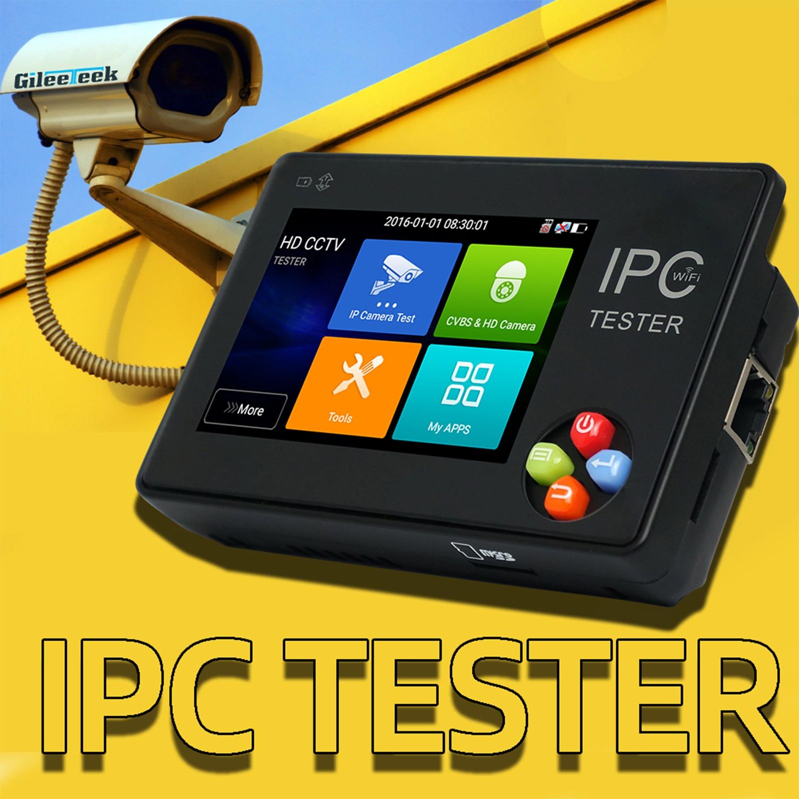 IPC1600AHD plus IPC tester monitor 3.5 inch 4K H.265 IP & CVBS AHD TVI CVI 1080P Camera tester support Rapid ONVIF, IP discoveryIPC1600AHD plus IPC tester monitor 3.5 inch 4K H.265 IP & CVBS AHD TVI CVI 1080P Camera tester support Rapid ONVIF, IP discovery