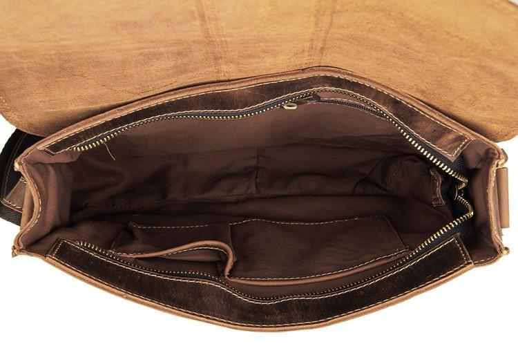 Wysokiej jakości oryginalna skórzana torba kurierska damska Torba - Torebki - Zdjęcie 6