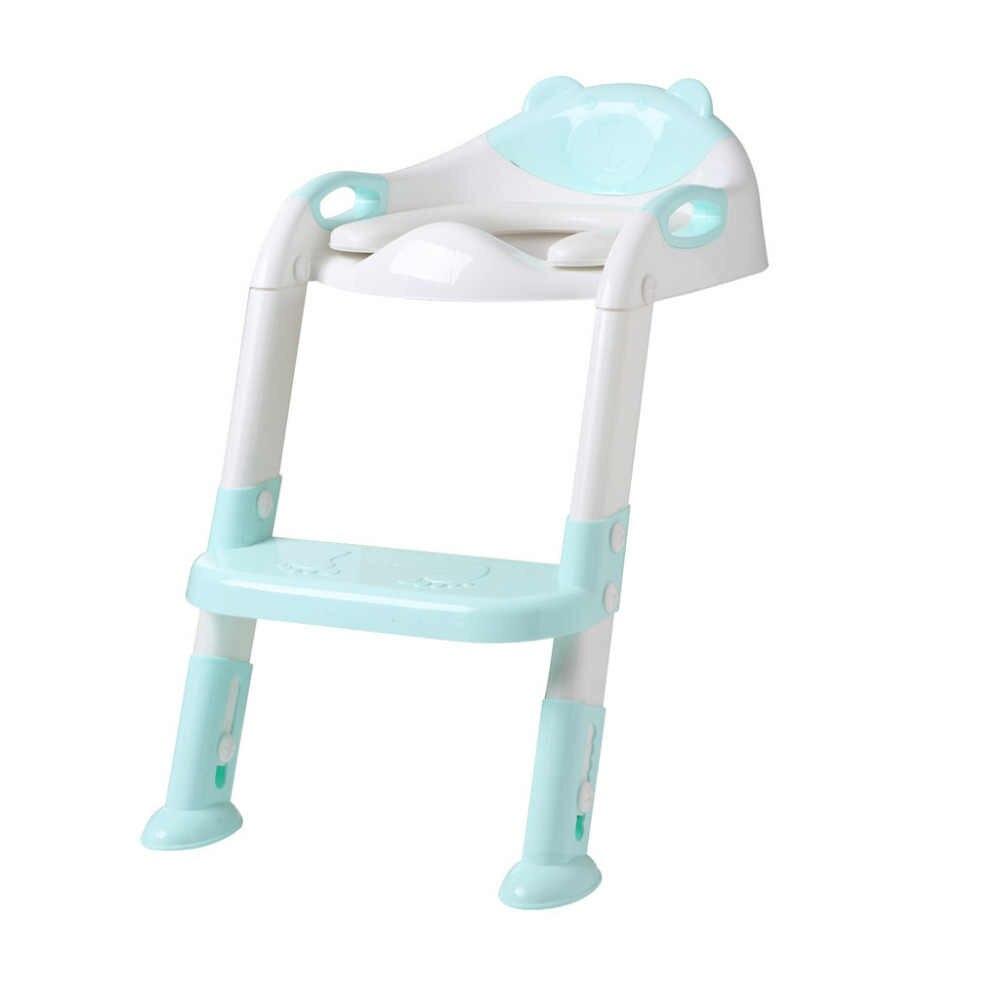 MUQGE Лидер продаж Детский горшок туалет тренировочное сиденье шаг лестница-стул регулируемый тренировочный стул 2 цвета Варианты