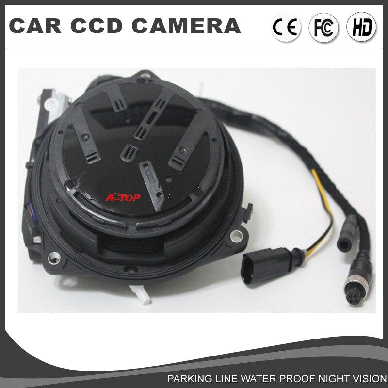 vw volkswagen rotating rear view camera vw logo flipping backup camera  passat cc golf