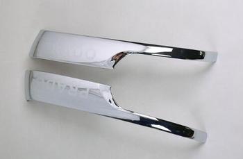 Abs الكروم الرؤية الخلفية الجانبية مرآة الديكور قطاع الغلاف تريم لتويوتا لاند كروزر برادو LC150 اكسسوارات 2010-2017
