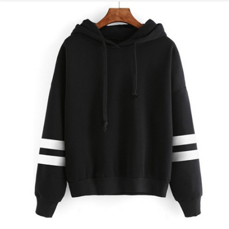 New Fashion Elegant Autumn Hooded Sweatshirt Long Sleeve Pullover Streetwear Hoodies For Women men S-XL Size