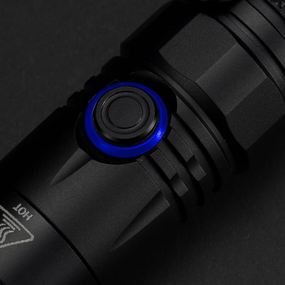 Astrolux MF01 Mini 7 * SST20 5500LM CRI95 type C перезаряжаемый Campact EDC фонарик 26650 21700 18650 фонарь Портативный - 3
