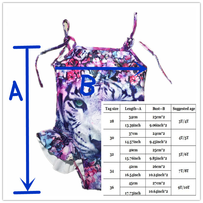 Girls Swimsuit one piece swimsuit for Kids Girl Swimming Suit Character Animal Swimwear for Children Swimming Clothes 3 10T in Children 39 s One Piece Suits from Sports amp Entertainment