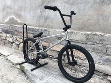 Home V3 bmx bikes 20 full crmo full bearings silver cheap Street Steel Aluminum Alloy Male