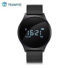 Teamyo Спорт Смарт Браслет M7 Bluetooth Smart часы Bood Давление услышать Rate Monitor cardiaco Шагомер умный Браслет