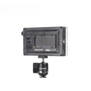 Image 5 - Aputure Amaran AL F7 Farbe Temperatur 3200 9500K CRI/TLCI 95 + Led Panel Meisten Vielseitig Auf  kamera LED licht