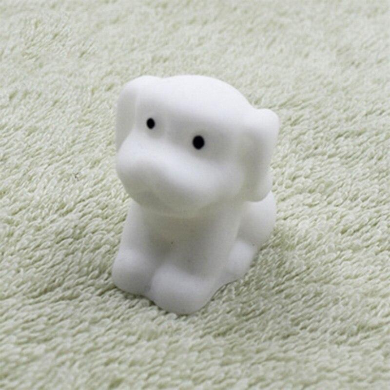 Забавный подарок милые антистрессовые мягкие игрушки милый мягкий силиконовый сжимающий руку детская игрушка Kawaii хлюпает животных Медведь Кролик WY30 - Цвет: WJ0328-NNL