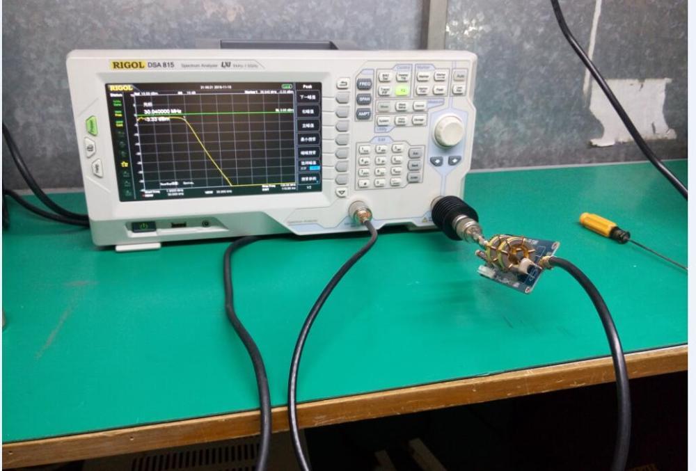Filtro de paso bajo para salida de amplificador HF SSB 1000 W 1KW 30 MHZ SWR - 3