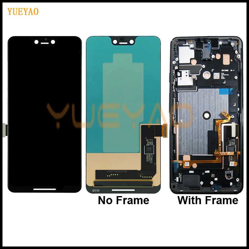 "6.3"" Google Pixel 3 XL LCD Display Touch Screen Digitizer Assembly 5.5"" Google Pixel 3 LCD Screen Replacement Google Pixel 3 XL"
