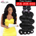 Peruvian Body Wave 3 Bundles 8A Peruvian Virgin Hair Body Wave Cheap Unprocessed Virgin Soft Peruvian Human Hair Weave Bundles