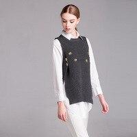 2018 Special Offer Sale Regular Patchwork Pullover Titotato Plus Size Women's Vest Fat Mm Irregular Warm 200 Kg Jacket Sweater