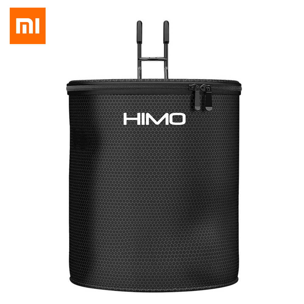 Original Xiaomi Himo 12l Waterproof Storage Basket Bike Bag Supplies For Xiaomi Electric Scooter Himo C20 V1 Series Universal Clients First