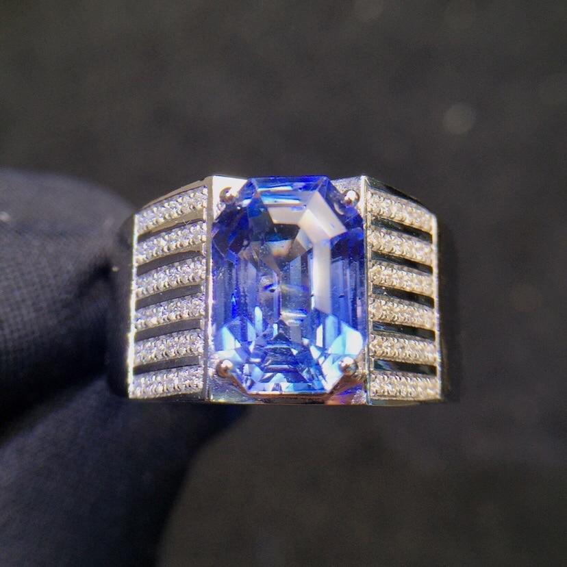 Women/'s Fashion Vivid Flower Wedding Engagement Party Sapphire Ring Size 6-10