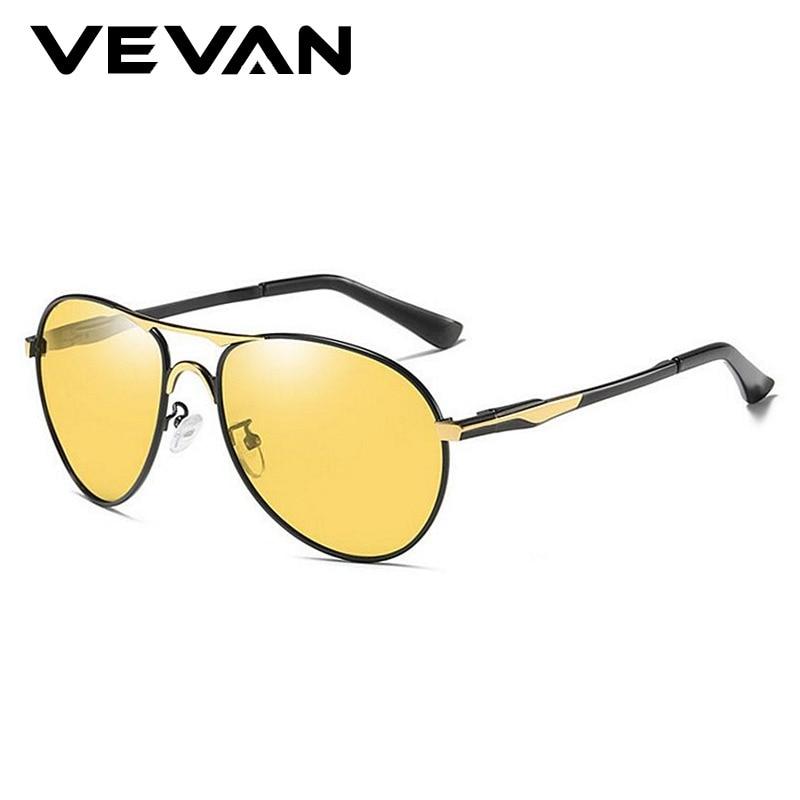 26bf639a7 Qualidade Photochromic Dia Óculos de Visão Noturna Motorista Óculos  Polarizados Óculos De Sol Dos Homens Lente