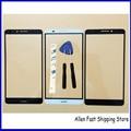 Original nova tela de toque do telefone móvel para huawei ascend mate 7 mt7-tl00 sensor de vidro do painel de toque digitador, preto/Branco/Ouro