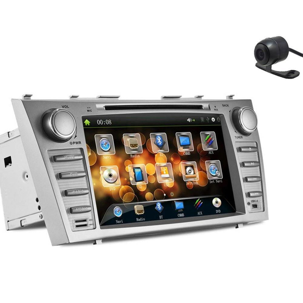 Christmas Sale Transmitter Pupug In Dash Silver Multi Media Car DVD Player font b GPS b