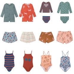 PRE-SALE Kids 2019 Swimwear Bobo Summer Girls Cute One-piece Swimsuit Boys Swimwear Shorts T-shirt Vacation Beach Baby Clothing
