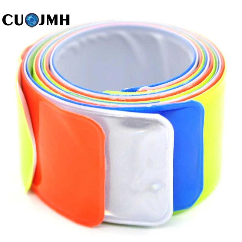 1 Pc Extended Bicycle Reflective Tape Beam Belt / Legging Belt / Bicycle Reflective Strip Safety Protection Reflective Tool