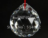 FENG SHUI CLEAR CRYSTAL SPHERE 10 LOT Prism Chi Ball Gift 30MM