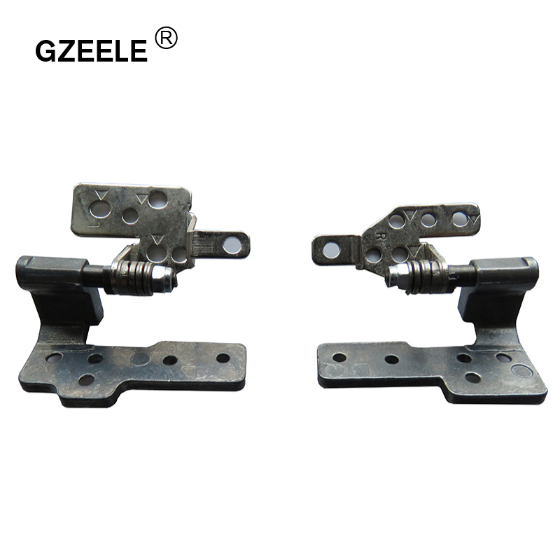 GZEELE Hot Selling!!NEW LCD LED Hinges For Asus N61 N61J N61JV N61JQ N61JA N61W N61VG N61VF N61V N61VN N61D N52 L&R High-quality