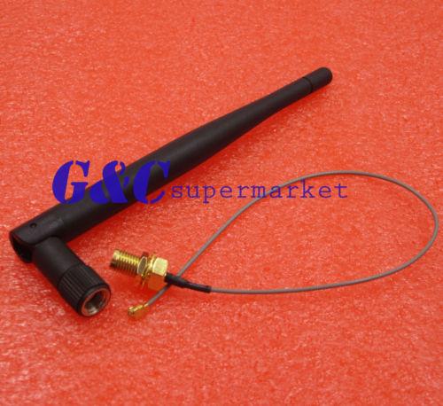 Antenna Extension Cable 3DBI Gain Antenna for ESP8266 Serial Wifi Module ESP-02
