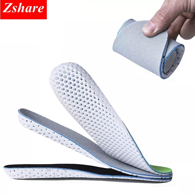 1 Pair Unisex Sport Shoes Insoles Orthopedic Sneakers Memory Foam Arch Support Soft Insert Soles Pad Breathable Shoe Insoles1 Pair Unisex Sport Shoes Insoles Orthopedic Sneakers Memory Foam Arch Support Soft Insert Soles Pad Breathable Shoe Insoles
