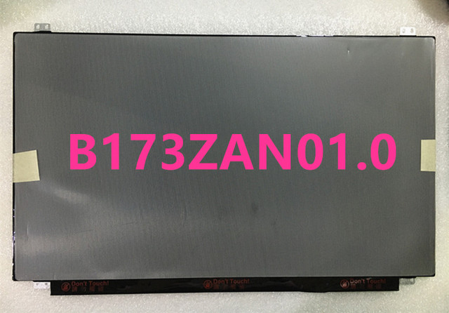 4K LCD Super 17.3 inch Screen B173ZAN01.0 LCD Screen 3840x2160 Wideview Dislay For Lenovo Y70-70 +Free Shipping