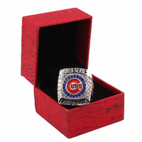 Box Packing 2016 REPLICA Chicago Cubs Baseball World Series Champion Ring Replica Sport Circle Men S