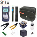 12 stks/pak FTTH Glasvezel Tool Kit met FC-6S glasvezel cleaver Power Meter Visual Fault Locator Fiber Striptang