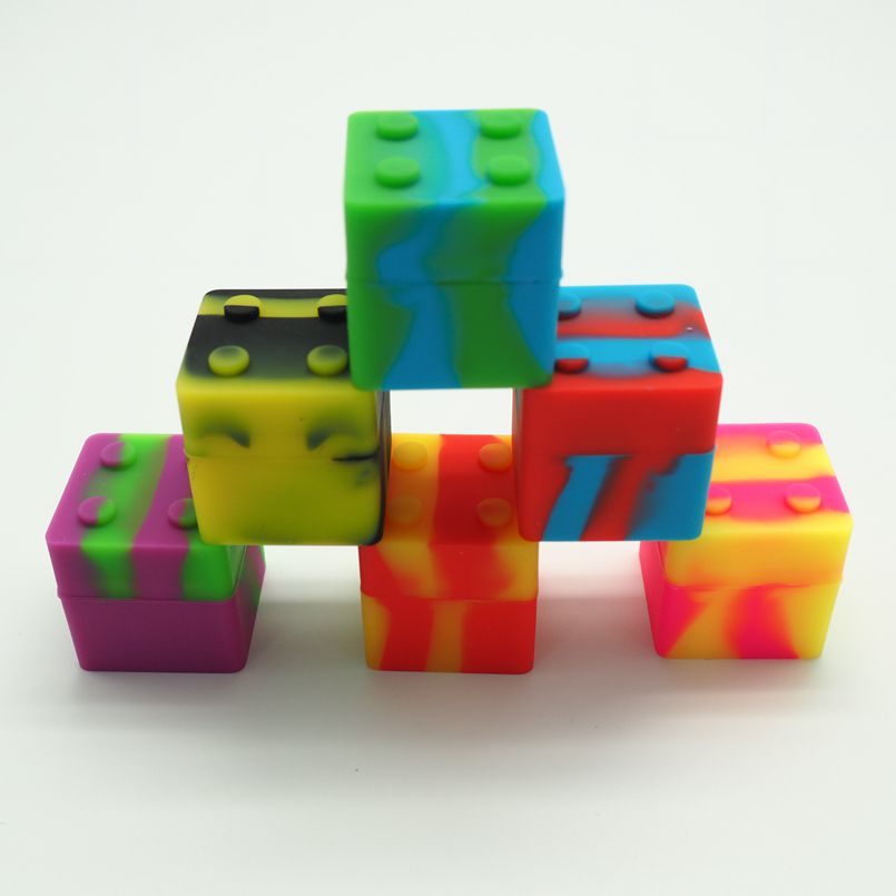 silicone small square container (2)