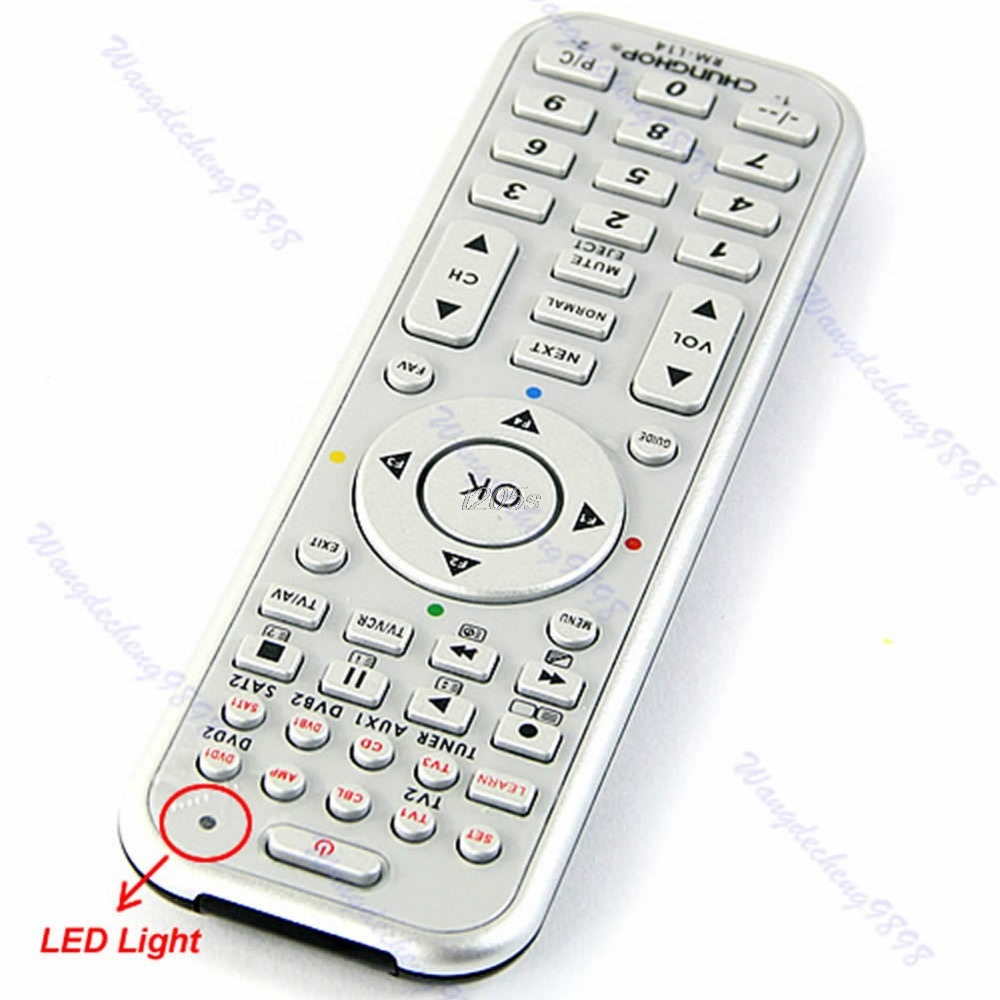 14in1 Universal Smart Remote Control With Learn Function For TV CBL DVD SAT DVB T25 Drop ship
