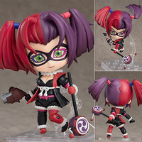 10cm Original Nendoroid Ninja Batman Harley Quinn Sengoku ABS & PVC Painted action figure collection toy doll with box