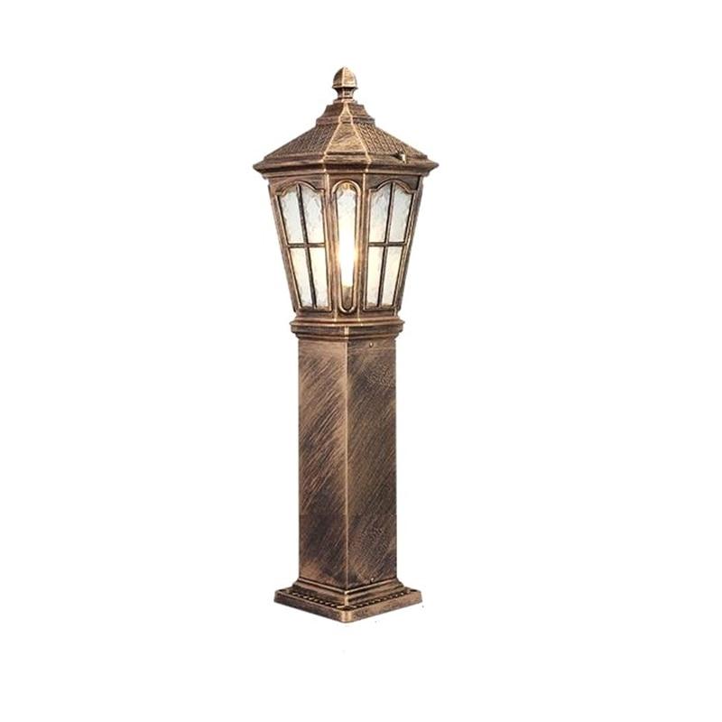 Iluminador Jardin Farola garden Plaza Lamp Ogrodowe Decor Uliczna Off Road Lampione Luminaire Exterieur Street Light