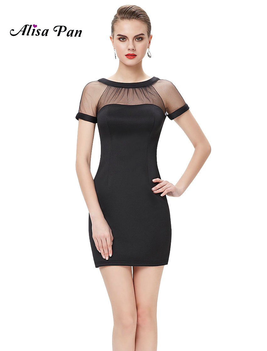 Wedding Simple Black Dress compare prices on simple black dress online shoppingbuy low women bodycon dresses alisa pan ap05233 sexy club fashion short sleeve casual dress