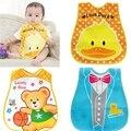 Bebé Baberos Niños EVA Impermeable Baberos Bandana de Dibujos Animados Lindo de Silicona Niños Baberos Para Bebés Niños Niñas Bebés Ropa Eructar Cuidado De La Alimentación