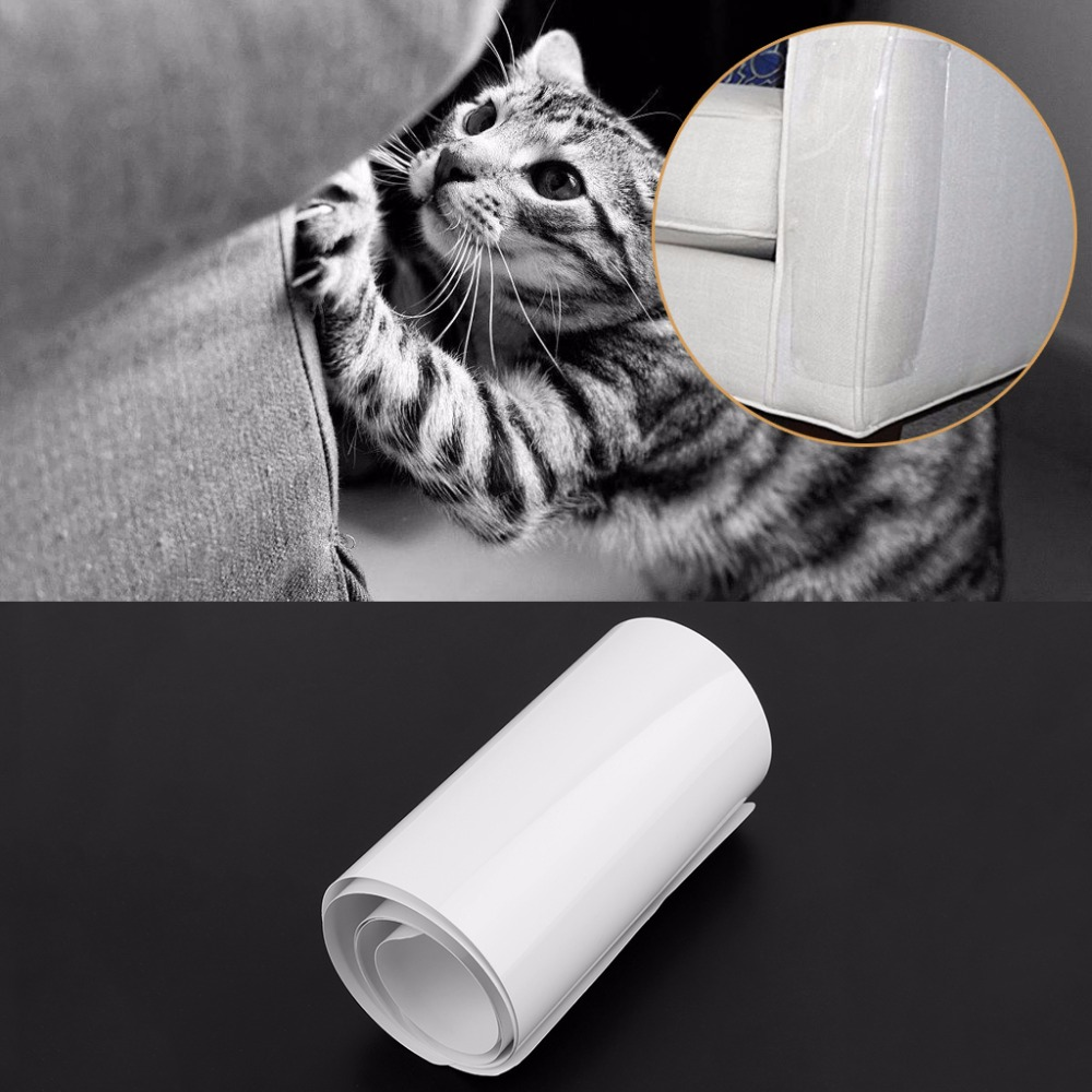 2Pcs Couch Guard Cat Furniture Protector Pads Self Adhesive Cat Scratching Protects Sofa Door Carpet Screen From Cat Claw Damage