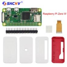 Малина Pi zero starter kit w 5MP Камера + Официальный чехол + теплоотвод + GPIO заголовок для Raspberry Pi zero 1.3