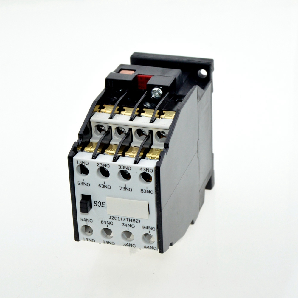 8NO Coil Voltage 24V,50Hz / 60Hz JZC1-80, 3 Phase 3 Pole AC Contactor Type Relay Ui660V Ith10A Auxiliary Contactors8NO Coil Voltage 24V,50Hz / 60Hz JZC1-80, 3 Phase 3 Pole AC Contactor Type Relay Ui660V Ith10A Auxiliary Contactors